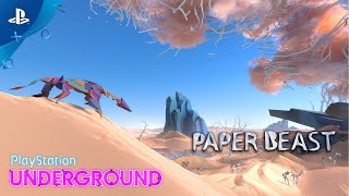 Paper Beast - PS VR Gameplay | PlayStation Underground