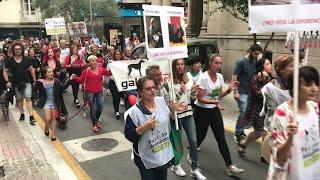 Manifestación antitaurina en Pontevedra