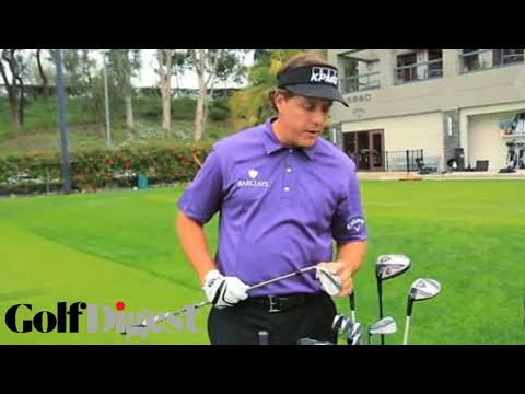 Phil Mickelson Reveals What's In His Golf Bag   Behind the Scenes   Golf Digest