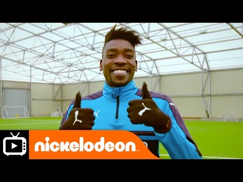 Nick Kicks | Newcastle United Chip N' Bin | Nickelodeon UK