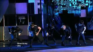 MBLAQ - Y, 엠블랙 - 와이, Music Core 20100904