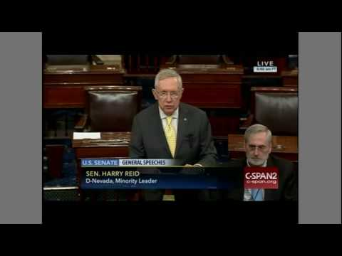 Harry Reid loses his cool over Senate Republican obstruction