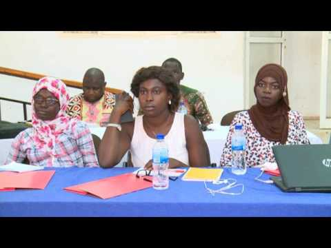 The Gambia Press Union training on Civic Education