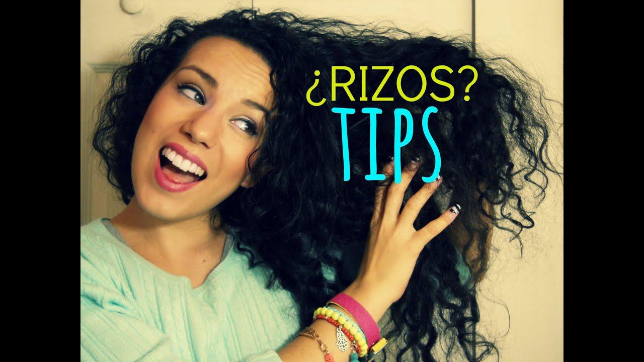 Rizos tips y opini n y resultado de playera estampada - Ideas para peinar cabello largo ...