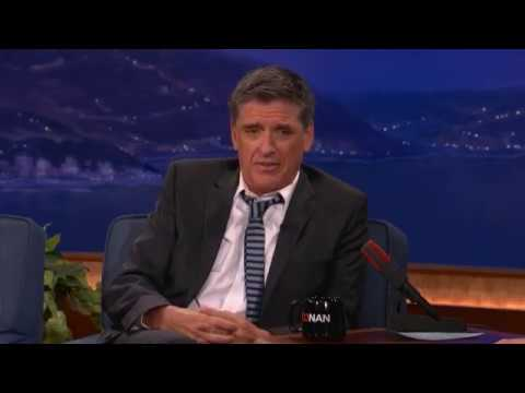 Craig Ferguson second visit on conan o'brien - Pt.01- 02/08/11