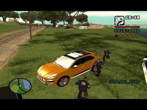 GTA SA Busted part 9
