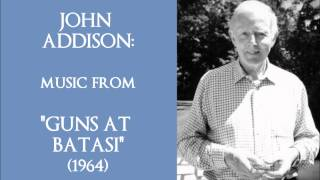 "John Addison: music from ""Guns at Batasi"" (1964)"