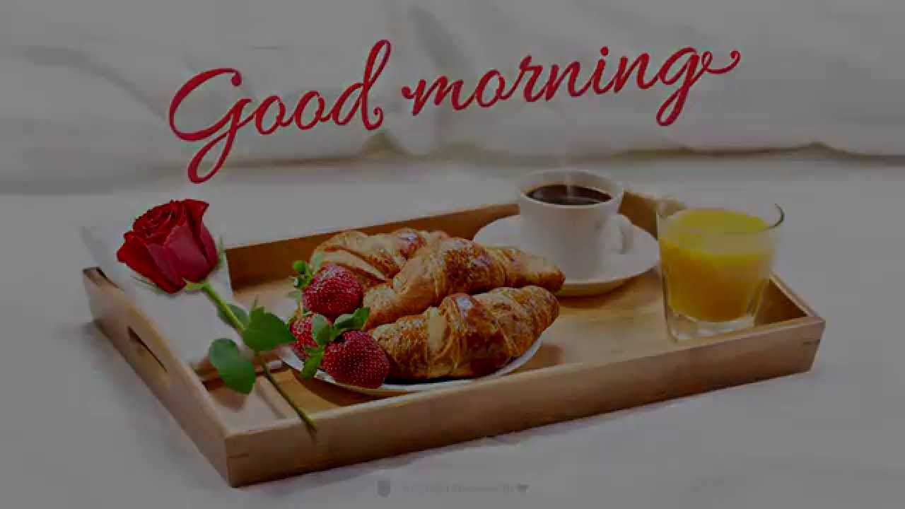 Good Morning Images Breakfast : Pinnatta good morning breakfast in bed youtube
