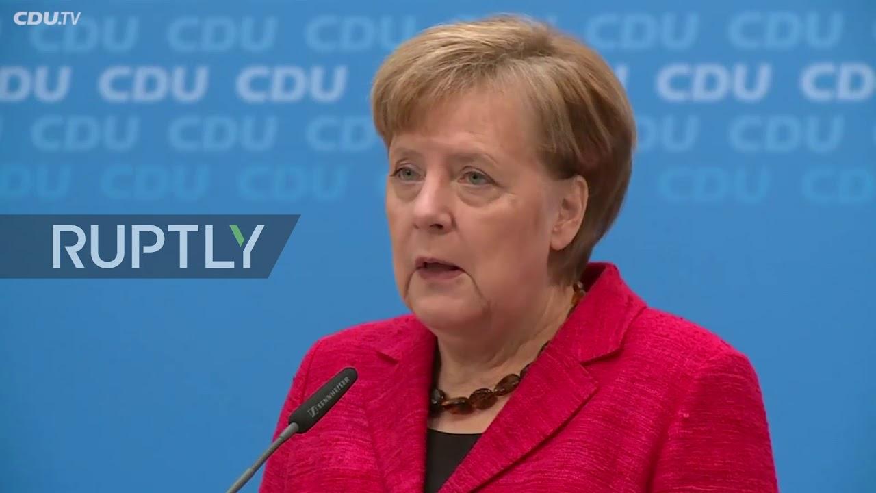 Germany: Merkel promises jobs and prosperity in new coalition