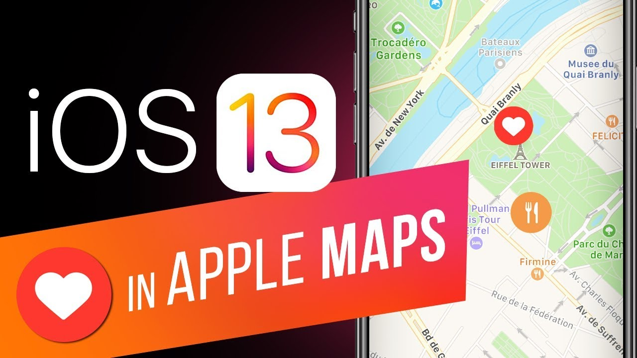 How to Use Favorites in Apple Maps in iOS 13? Create a List of Favorite Locations