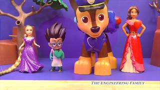 OPERATION Heart Surgery with Tangled EVER AFTER + PJ MASKS Romeo and PAW PATROL Doctor Operation