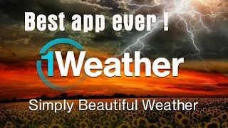 Cool and best weather app ever   Android   1weather app
