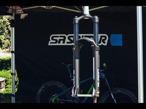 Технический обзор велосипедной вилки Suntour Auron RC2