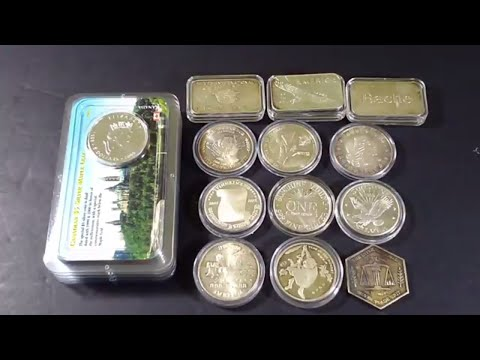 Littleton's ASE coins in COA Pkt. and a lot more LCS pickups