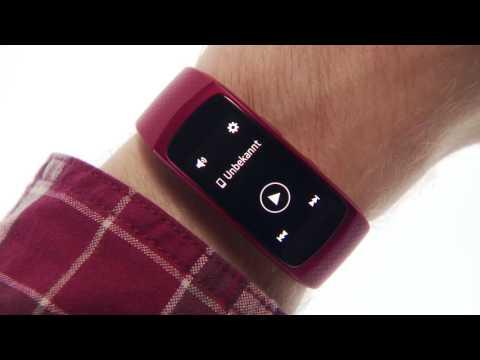 Samsung Gear Fit2: Musik an Gear senden und anhören