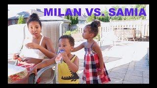 MILAN VS. SAMIA