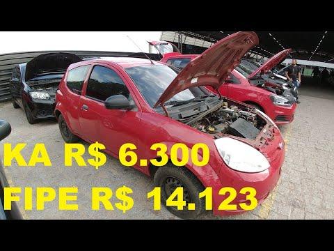 LEILÃO com VW FOX, GOL, FORD KA, FIAT PUNTO, PEOGEUT 206