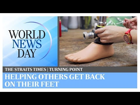 World News Day: Helping people get back on their feet | The Straits Times | Turning Point