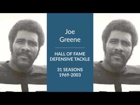 Joe Greene: Hall of Fame Football Defensive Tackle