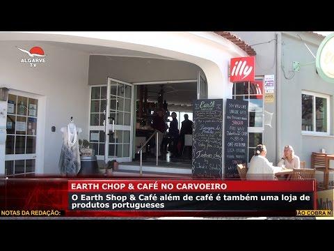 O Earth Shop & Café no Carvoeiro