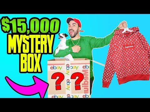 I spent $15,000 on eBay Mystery Box (YOU WON'T BELIEVE WHAT'S INSIDE)