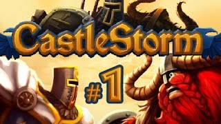 CastleStorm - Kingdom Quest gameplay part 1 (PS3)