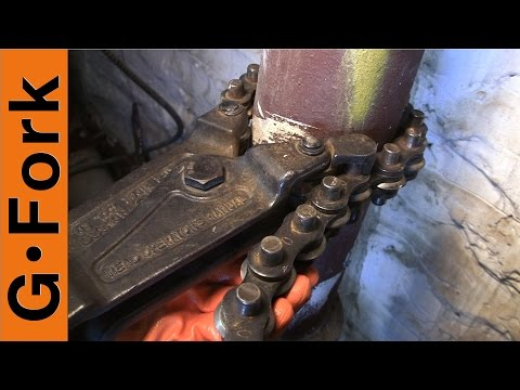 Plumbing Leak! How To Cut Cast Iron And Replace with PVC – GardenFork