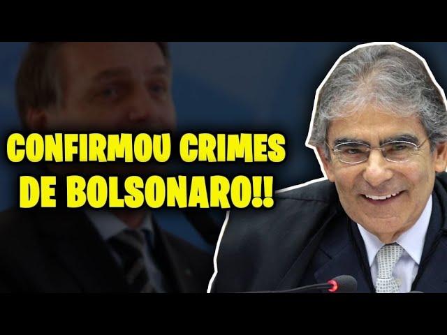 MINISTRO DIZ QUE BOLSONARO COMETEU CRIME