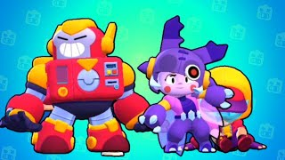 NEW MEGA BEETLE BEA VS MEGA MONSTER - Brawl Star New Update New Environment: Super City