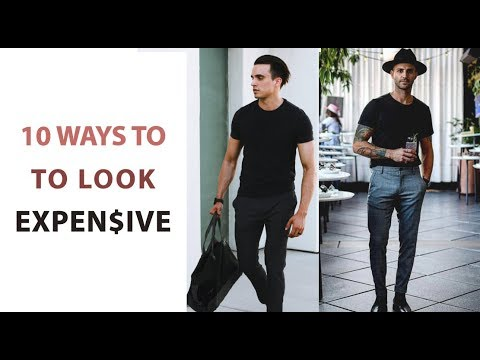 e3b75b284674 10 Simple Ways To Make You Look Expensive - Mens Style Hacks - YouTube