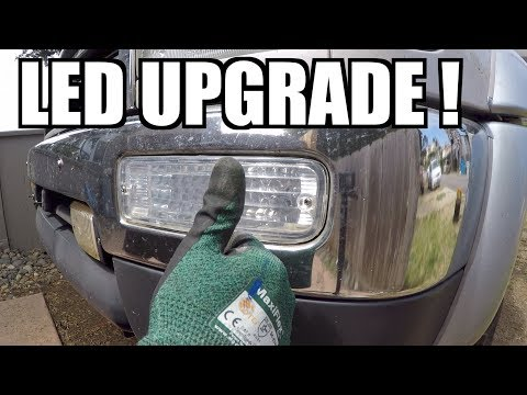 How To INSTALL REPLACE (LED) Turn Signal TOYOTA 4Runner 3rd GEN