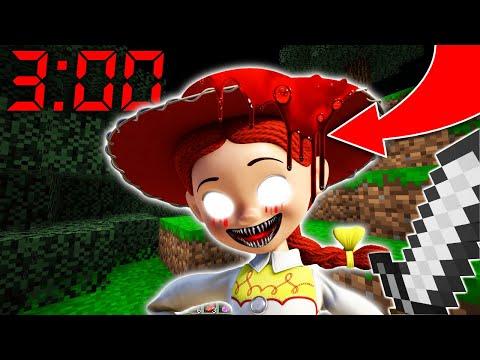 NE JAMAIS FAIRE SPAWN JESSIE À 3H00 DU MATIN MINECRAFT ! Toy Story 4 !