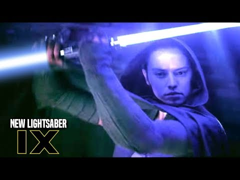 Star Wars! Reys New Lightsaber In Episode 9! The Problem & More