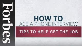 How To: Phone Interview
