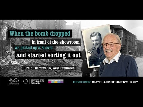 Memories of West Bromwich High Street from 96 year old Ernie Timmins
