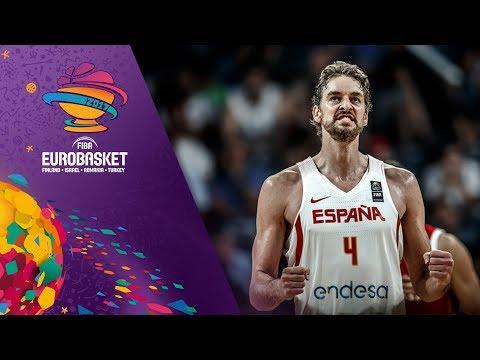 Spain v Russia - Highlights - 3rd Place - FIBA EuroBasket 2017