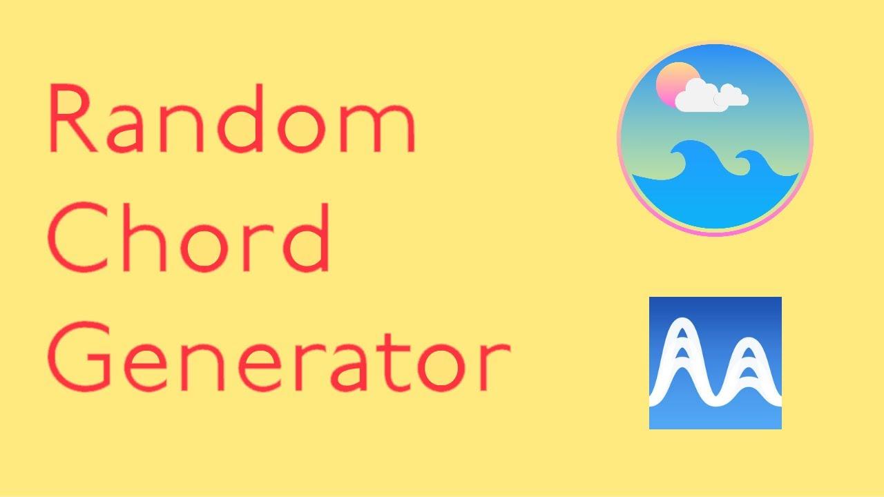 Creating Music using a Random Chord Generator