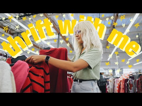 Come Thrift With Me for FALL | Pre-Fall Thrift Store Try On Haul
