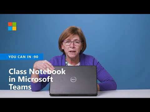 You Can Organize Thoughts In OneNote Class Notebook In Teams