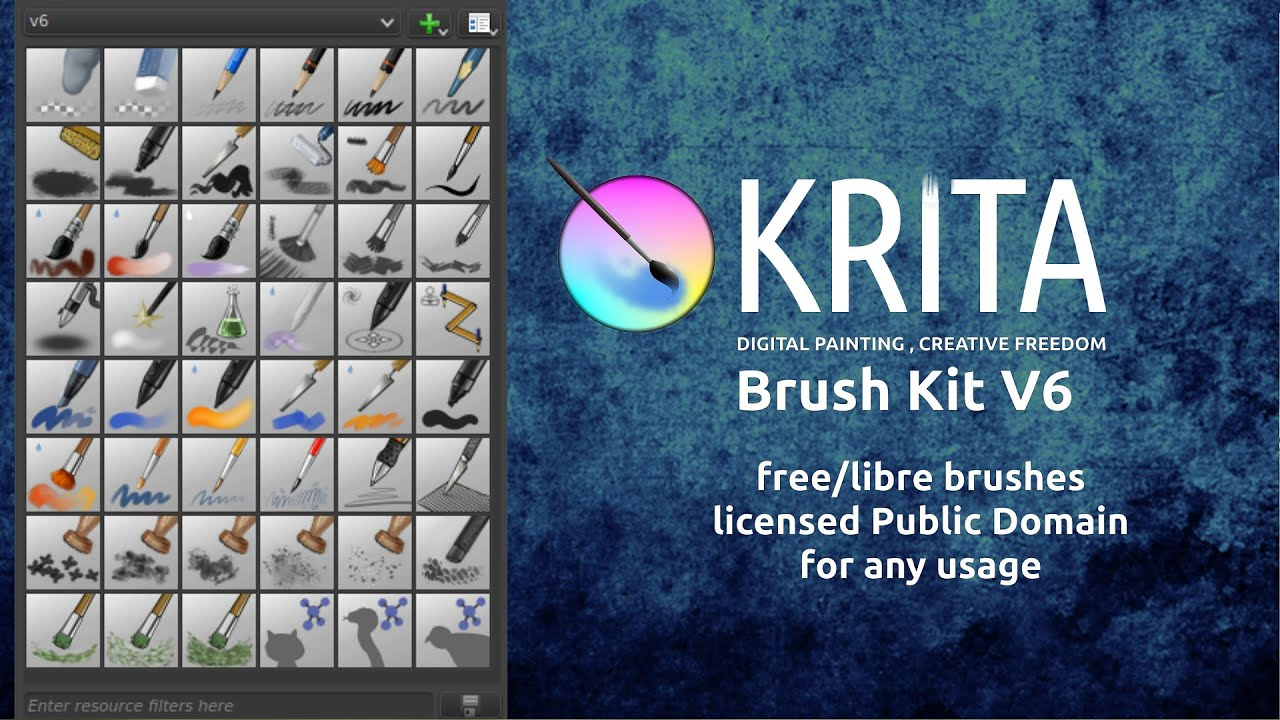 how to use textures on krita