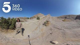 Travel Through the Iconic Vasquez Rocks in 360