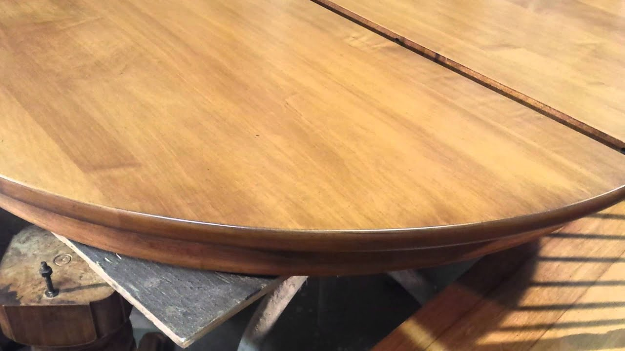 Refinishing A Maple Dining Room Table At Timeless Arts
