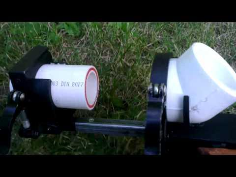 Струбцина - центратор для сварки ппр труб 50мм. Своими руками.