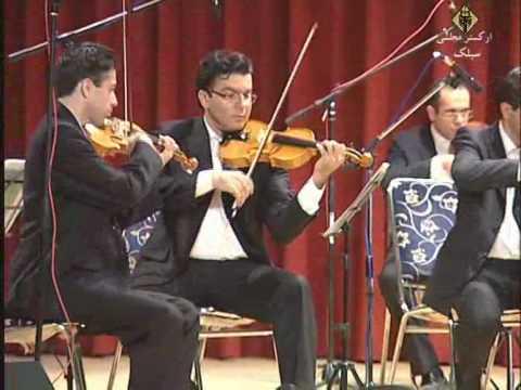 Sialk Chamber Orchestra Concert in Isfahan - Rouhollah Khaleghi - Se Zarbi Abu Atta