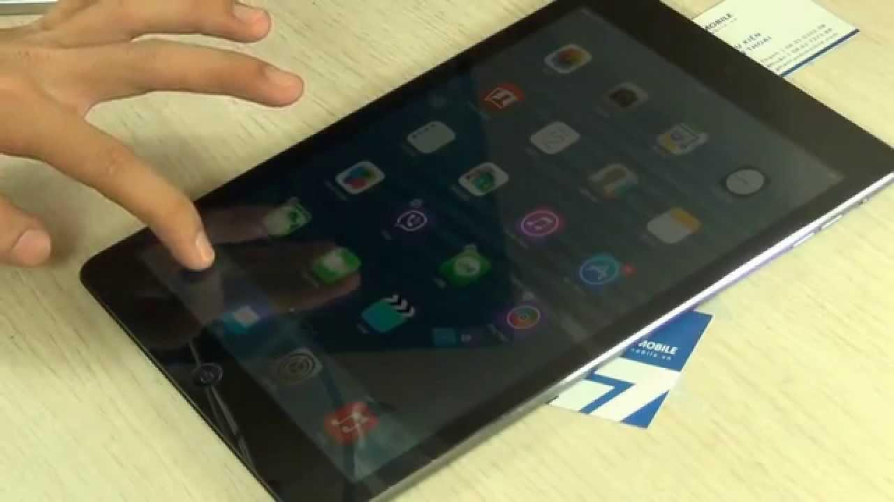 Thay màn hình mặt kính cảm ứng iPad Air | Phát Thành Mobile