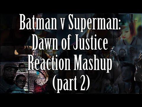 Batman V Superman: Dawn of Justice - Trailer #1 (Reaction Mashup Collab with AdikTheOne) - Part 2