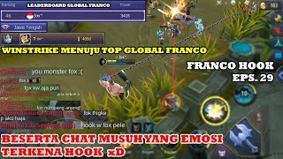 FRANCO HOOK MONTAGE EPS. 29 | ROAD TO TOP 46 GLOBAL FRANCO S13