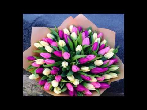 Букеты тюльпанов  20