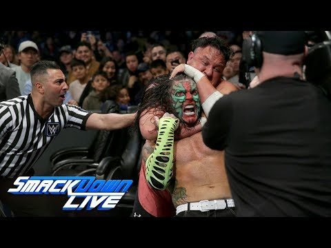 Jeff Hardy vs. Samoa Joe: SmackDown LIVE, Dec. 25, 2018