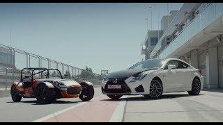 """Lexus RС-F против """"почти ВАЗа""""на треке.Anton Avtoman."""